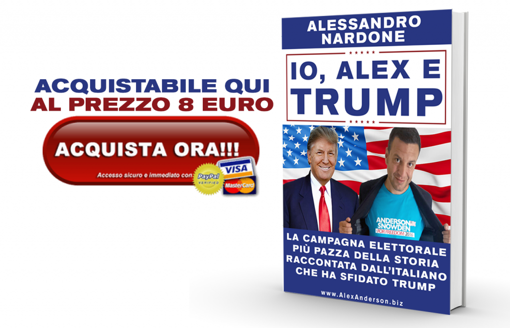 io alex e trump - acquista ora
